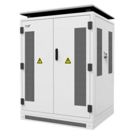 Spécialisé pour des centrales PV 100 kWc Équipement complet prêt à poser Composé de deux onduleurs SPI40K-B